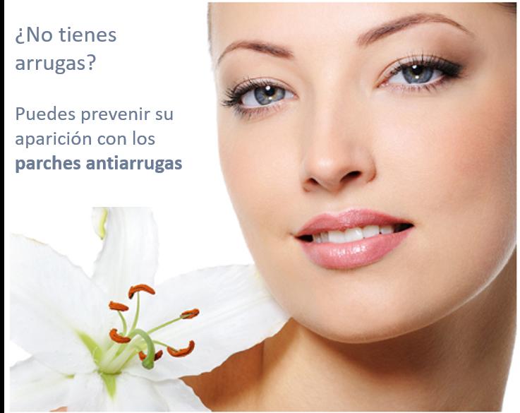 Prevenir aparición arrugas con parches