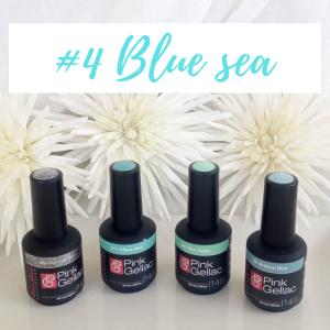 Oferta colores azules mar esmaltes Pink Gellac