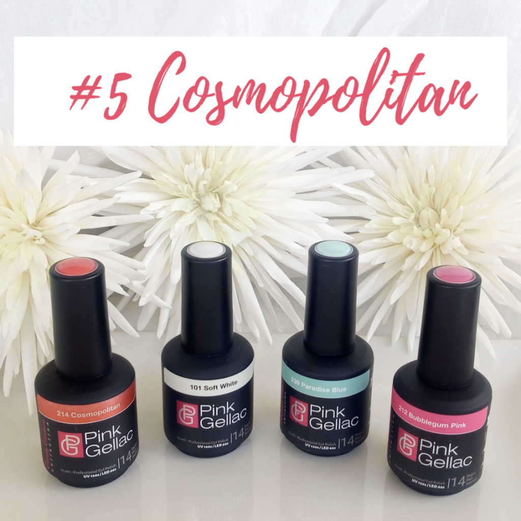 Oferta colores cosmopolitan esmaltes gel permanente Pink Gellac