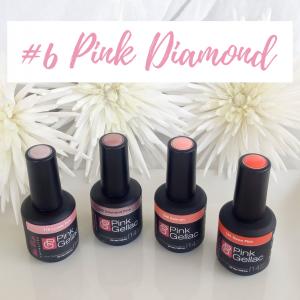 Oferta pink Diamond esmaltes Pink Gellac