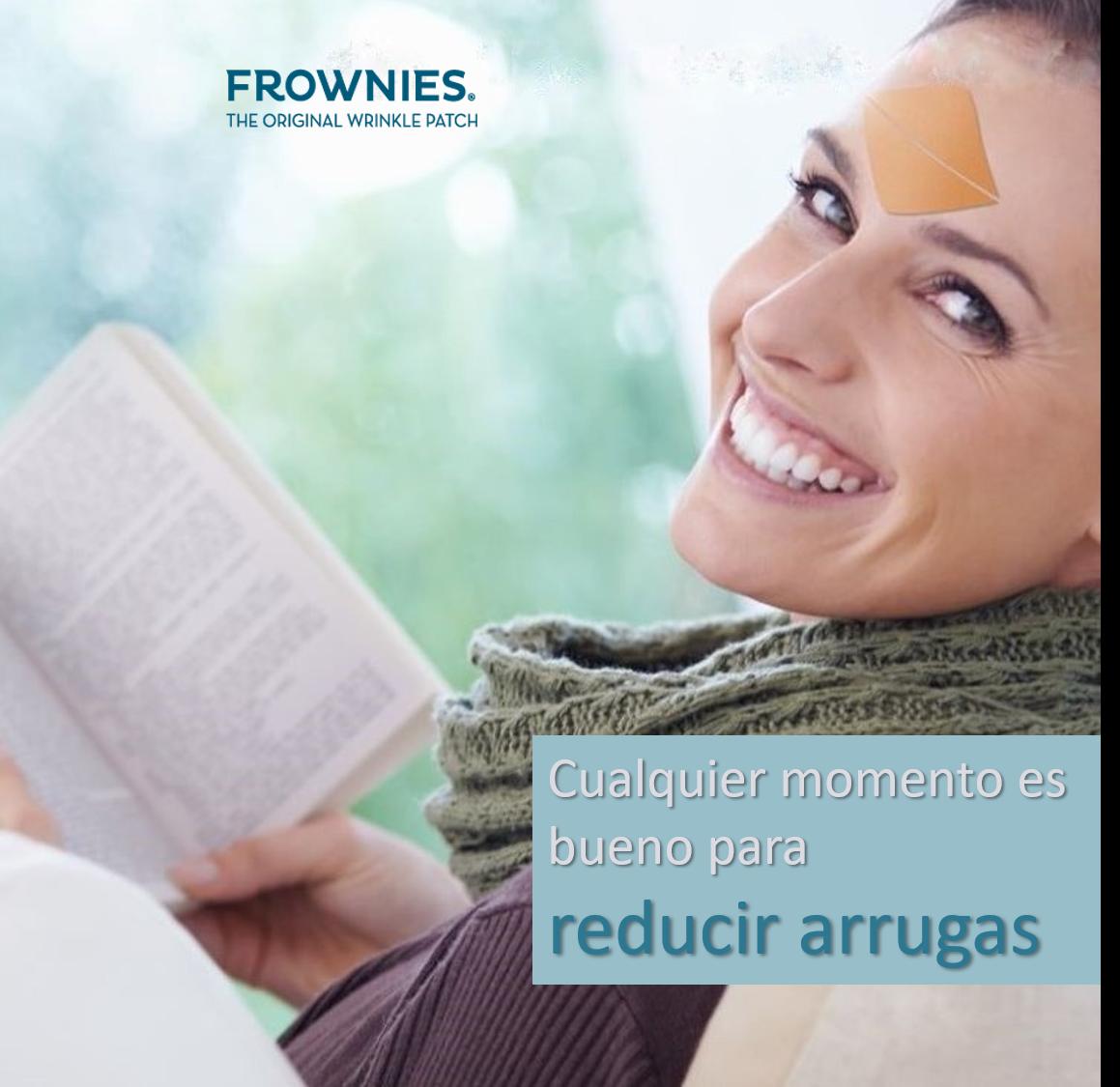 frownies parches antiarrugas para reducir arrugas frente entrecejo