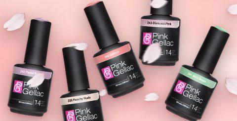 colores esmalte gel permanente Pink Gellac