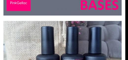 Diferencias entre bases para esmalte de gel permanente Pink Gellac