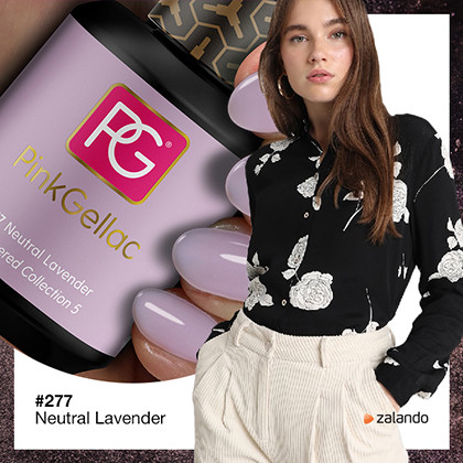 color esmalte gel permanente Pink Gellac Lavanda neutro