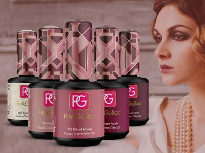 Los nuevos esmaltes de Pink Gellac Bodoir Charm