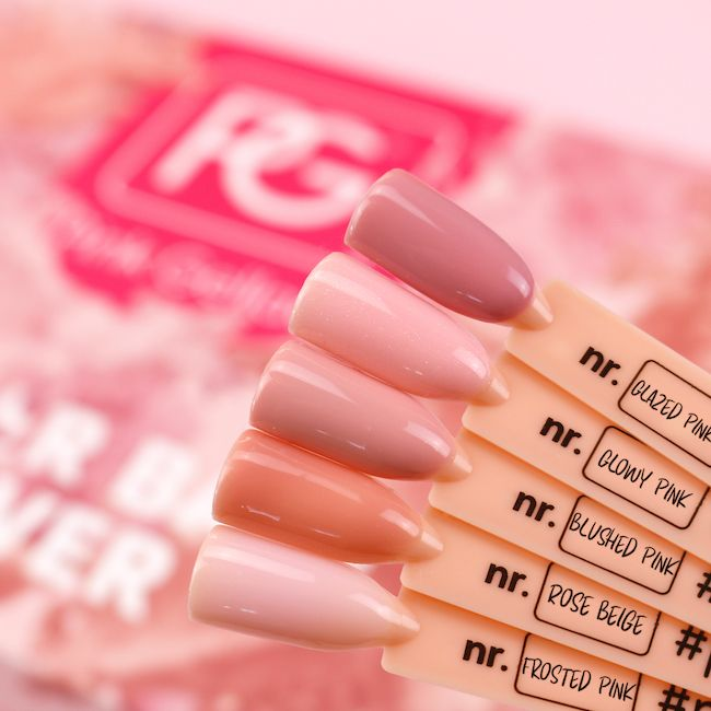 Base para esmalte en gel permanente Pink Gellac con color incorporado